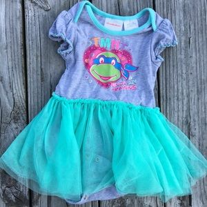 Ninja turtle tutu dress